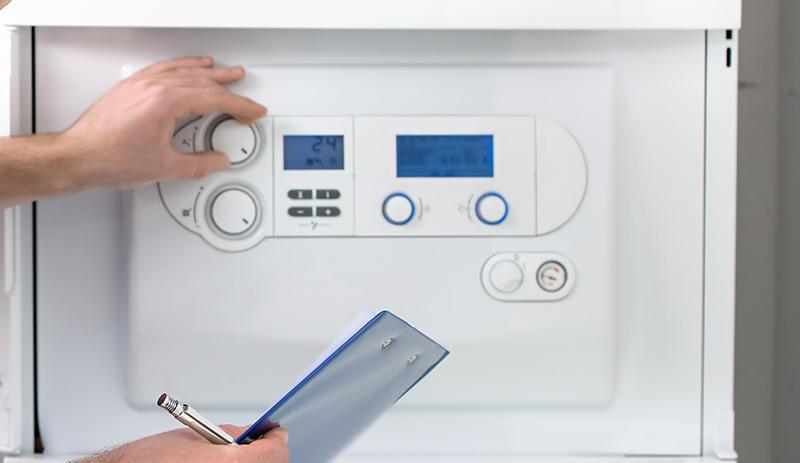 Instalação, manutenção e reparação de caldeiras